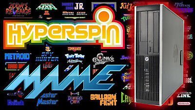 HyperSpin MAME Arcade PC Gaming Computer - Budget 2TB Version