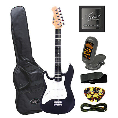Artist MiniS Plus Left Handed 3/4 Sized Electric Guitar + Accessories - New