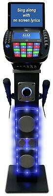 Easy Karaoke 7 Inch 60W EKS878-BT Bluetooth Karaoke Machine - Black