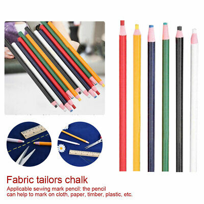 Cut-Free Sewing Fabric Sewing Marker Pen Colorful Erasable Fabric Tailors Chalk