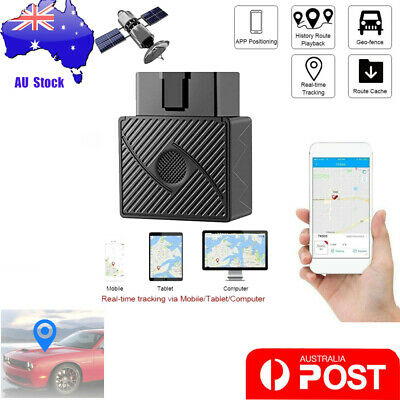 OBD Car GPS Tracker Real Time Car Vehicle Tracking Device System Locator Alarm