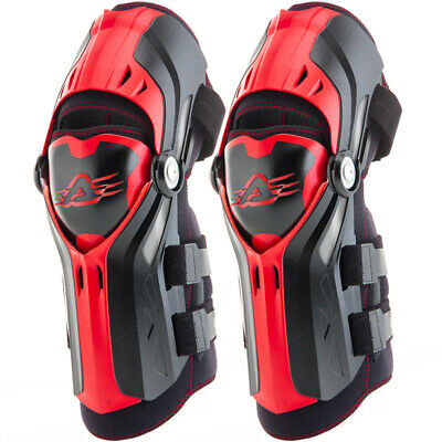 Acerbis Gorilla Knee Guards - Black Red