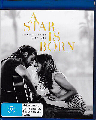 A STAR IS BORN Bradley Cooper / Lady Gaga Blu-Ray DISC Region B  New    SirH70