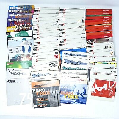 63x ME Musikexpress Sounds 13x Rolling Stone 3x Visions PAKET mit 79x CD