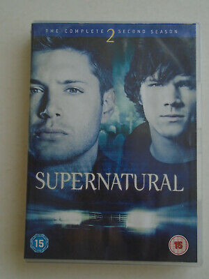 Supernatural: The Complete Second Season DVD Box Set (6 Discs)