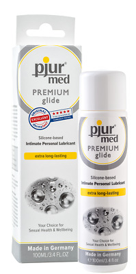 Pjur Med Premium Glide Intimate Personal Lubricant 100ml - Silicone Based Lube