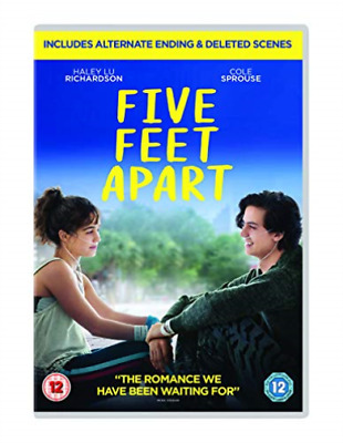 Five Feet Apart (UK IMPORT) DVD [REGION 2] NEW