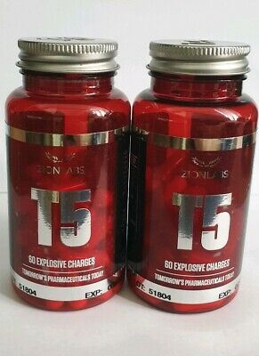 2 TUB x ZION LABS ORIGINAL T5 FAT BURNERS💥SPECIAL OFFER PRICE 💥VERY STRONG