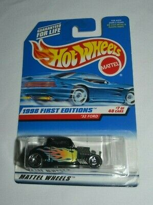 Hot Wheels 1998 First Editions 7 Of 40 '32 Ford Black