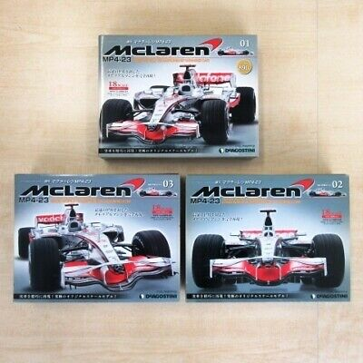 1/8 MISC DECAL for DEAGOSTINI McLAREN MP4-23 HAMILTON Other Sports Car Models & Kits