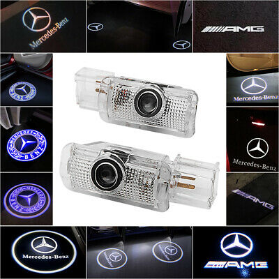 Projector Car Door LED Courtesy Light Puddle Laser LOGO For Mercedes Benz R ML