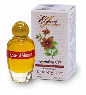 Rose of Sharon - Essence of Jerusalem Anointing oil - 10ml ( .34 fl. oz. ) from