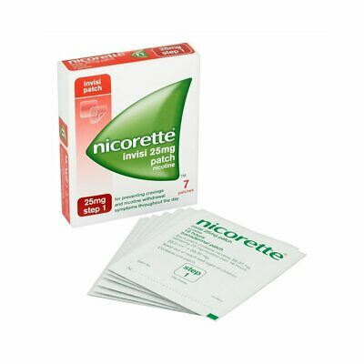 Nicorette Invisi Patch 25mg 7 Patches Step 1