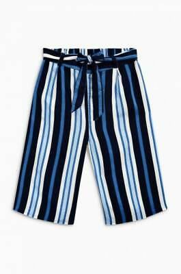 NEW RRP £14.99 Navy Stripe Culottes                                       (BU21)