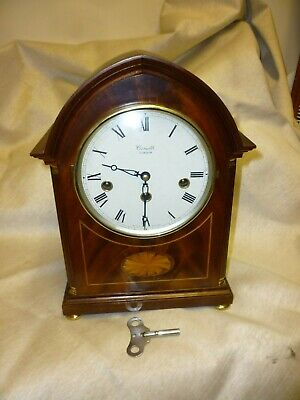 Very Nice Antique Style Westminster Chime Bracket Clock By Comitti Of London