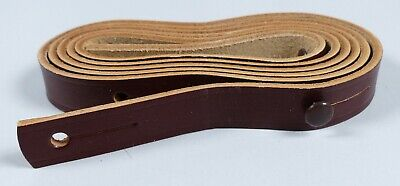 GDR Carrying Strap Leather Braun for Binoculars Carl Zeiss Jena Never Used