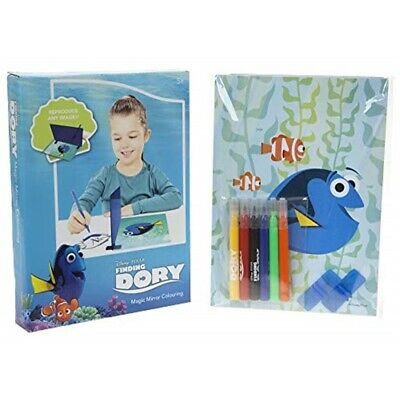 Slammer Magic Mirror Coloring Page Finding Dory - 13 Piece Drawing Set Kids