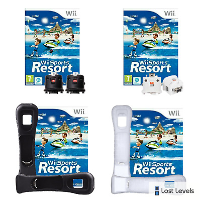 Wii - Sports Resort / Motion Plus Adaptors *Multi-Listing* fast dispatch - VGC