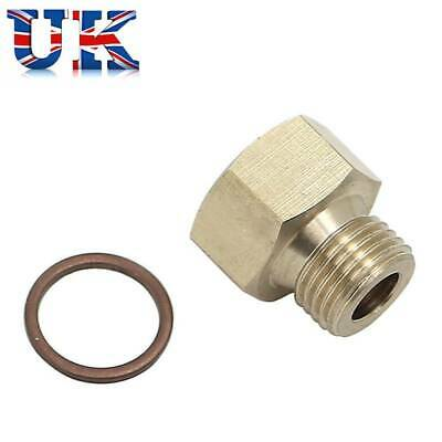 1/8 NPT Female To M14x1.5 Male Reducer Oil Pressure Gauge Adapter Gasket