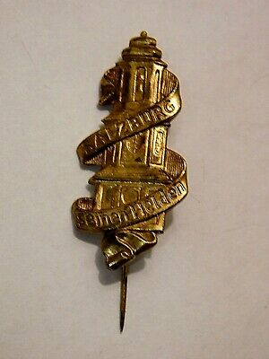 Vintage German Bavarian Octoberfest Hat Pin Brooch -SALZBURG SEINE HELDEN
