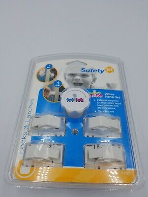 NIP Safety 1st Magnetic Cabinet Lock Locking System 4-Piece Set Four Locks 1 Key