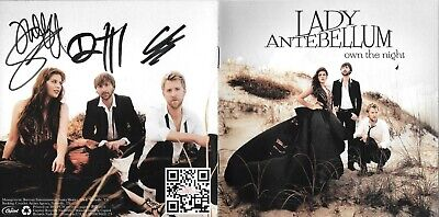 Own The Night CD and Guaranteed Autographed CD booklet by Lady Antebellum