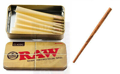 RAW Classic 98 special Size Pre-Rolled Cones (15 Pack) PLUS CONE ARTIST
