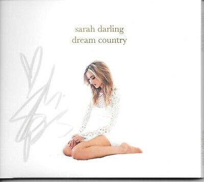 Guaranteed Autographed Dream Country CD signed by country cutie Sarah Darling