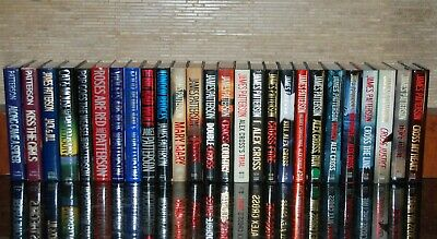 Complete 26 1st Edition HCDJ Volumes of Detective Alex Cross by James Patterson