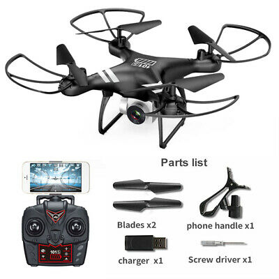 RC Drone Quadcopter With 5MP HD FPV Camera WIFI 6-Axis 4CH Altitude Hold