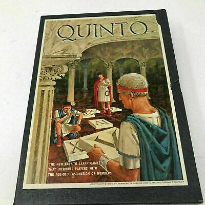 Quinto 3M Bookshelf Games Board Game Fascinating Game of Fives