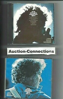 BOB DYLAN - Greatest Hits Volume 1 ~&~ 2 - 3 CD Disc LOT Set Best of Collection