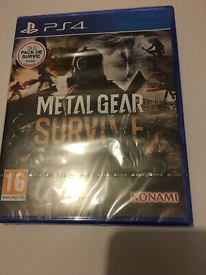 ❤️ Playstation 4 Neuf Sous Blister Pal Fr PS4 Metal Gear Survive