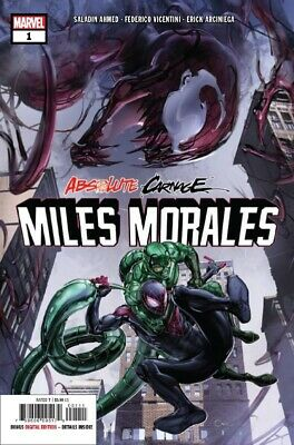 Absolute Carnage Miles Morales #1  Ac Marvel Comics 082719