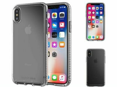 TECH21 Pure Clear Bulleshield Ultra Thin Case for iPhone X XS XS Max XR 7 8 Plus