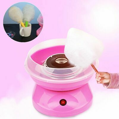 Pink Electirc Fairy Cotton Candy Maker Floss Home Machine Sugar for Kids Party