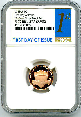 1972 S Lincoln 1c, NGC Certified PF 68 RD UCAM - $24 00