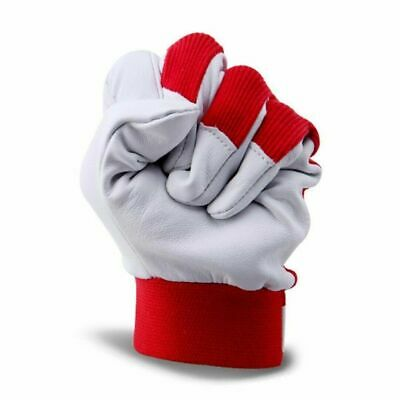 Finger Weld Monger Welding Red Gloves Heat Shield Cover Safety Guard Protection