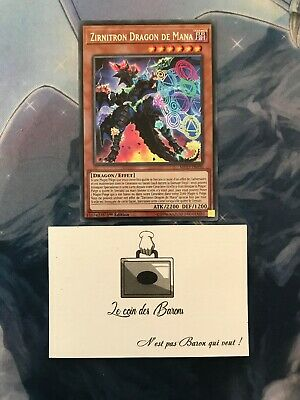 Yu-GI-OH! : Zirnitron Dragon De Mana  MP19-FR090 Secrète Rare