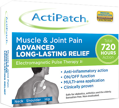 ActiPatch Muscle and Joint Pain Therapy Device Pain Relief