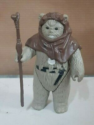 Star Wars.Figura Ewok Chief Chirpa.Kenner 1983