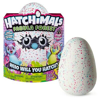 Hatchimals Fabula Forest W/ Interactive Tigrette, Pink 960 *New