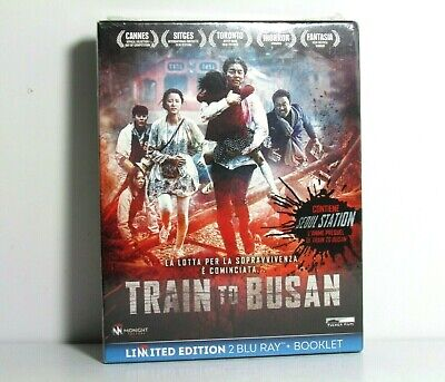 Train To Busan Blu-Ray Limited Edition Import Slip Box And Booklet Brand New