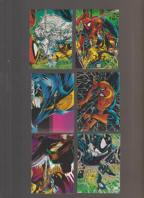 Lot of 6 Spider-Man The McFarlane Era trading cards Pub. 1992 Comic Images