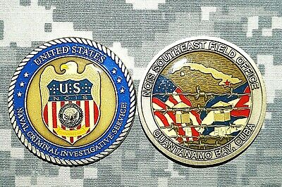 AWESOME US Naval Criminal Investigative Service Southeast NCIS Challenge Coin