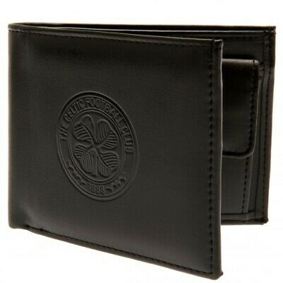 Celtic Football Club Debossed Crest PU Wallet with Free UK P&P
