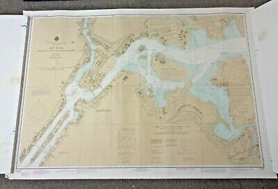 Noaa East River Tallman Island To Queensboro Bridge Nautical Map