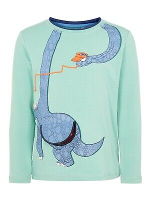 Name it Jungen Langarmshirt Gr.92-128 NMMNICKY LS TOP Biobaumwolle Dinosaurier