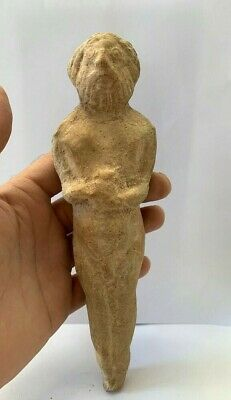 Ancient Assyrian Pottery Idol