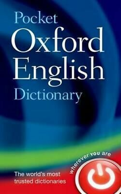 NEW Pocket Oxford English Dictionary By Oxford Dictionaries Hardcover